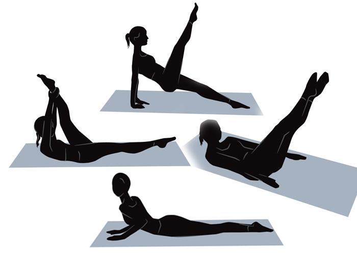 Упражнения для моментального похудения